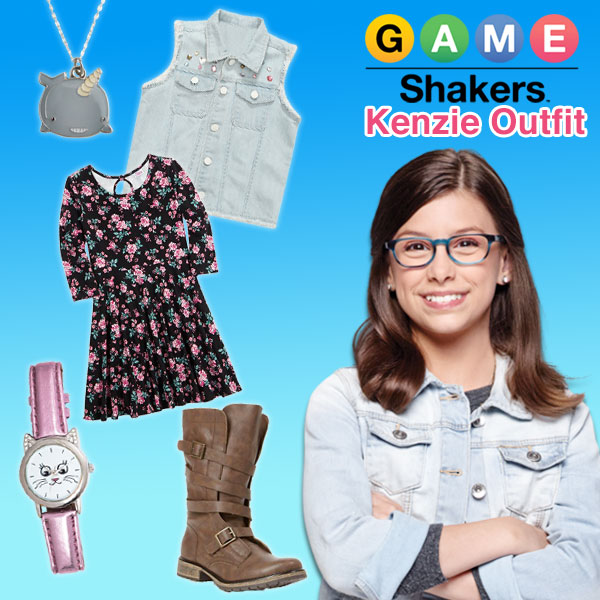 Kenzie Outfit - Game Shakers Style