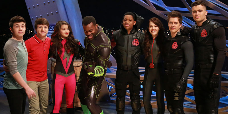 Lab Rats Elite Force Costume For Kids