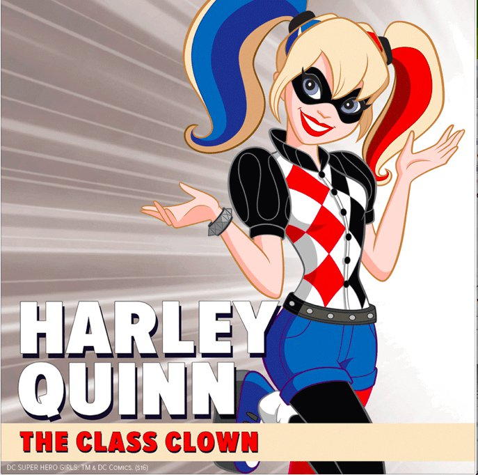 Harley Quinn - DC Super Hero Girls