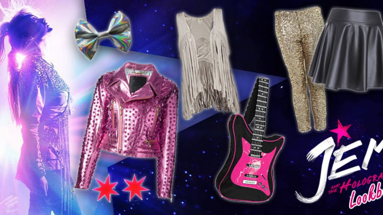 Jem And The Holograms Lookbook Yayomg