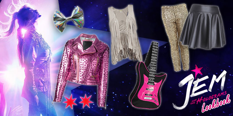 jem and the holograms lookbook