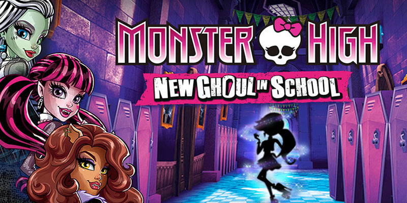 Monster High - New Ghoul in School Game