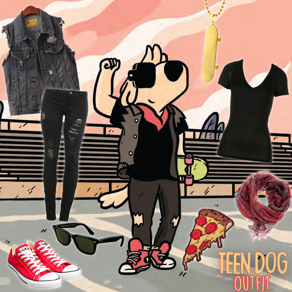 Teen Dog Outfit