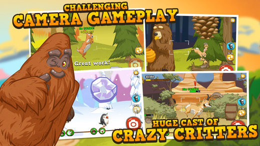 Bigfoot Hunter: A Camera Adventure Game