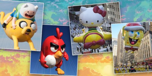 Which Balloon Are You Most Excited to See in the Thanksgiving Day Parade?