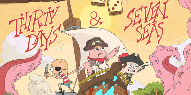 Thirty Days and Seven Seas Clarence