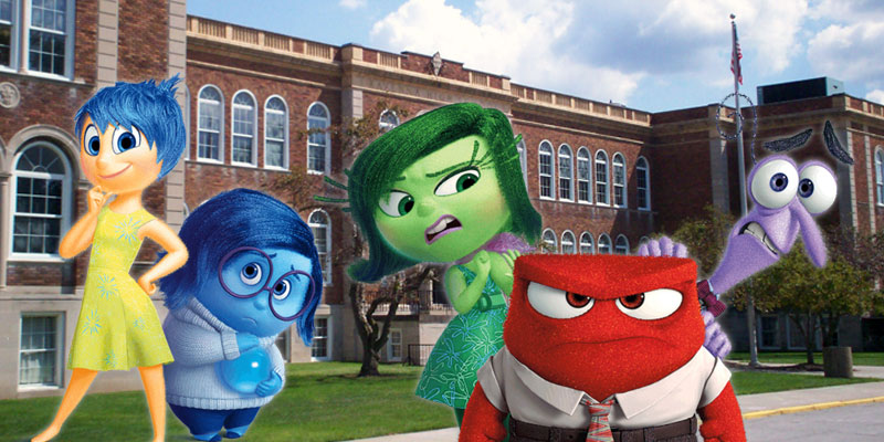 18 Ways the Inside Out Characters Understand What It's Like to Go To School