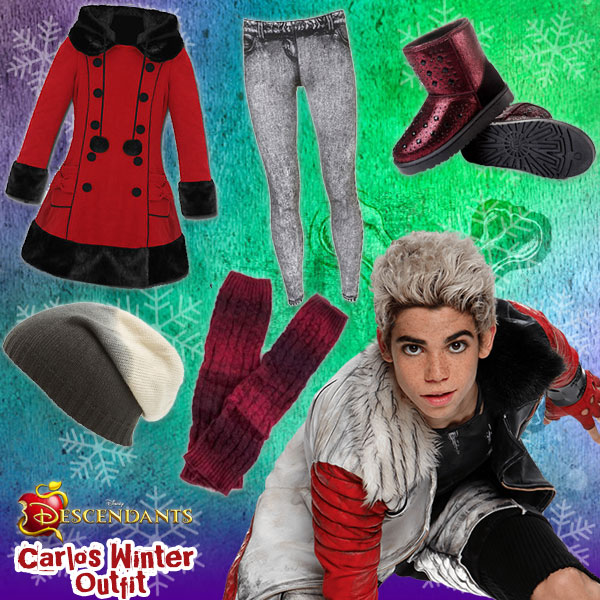 Descendants Winter Style: Carlos Outfit