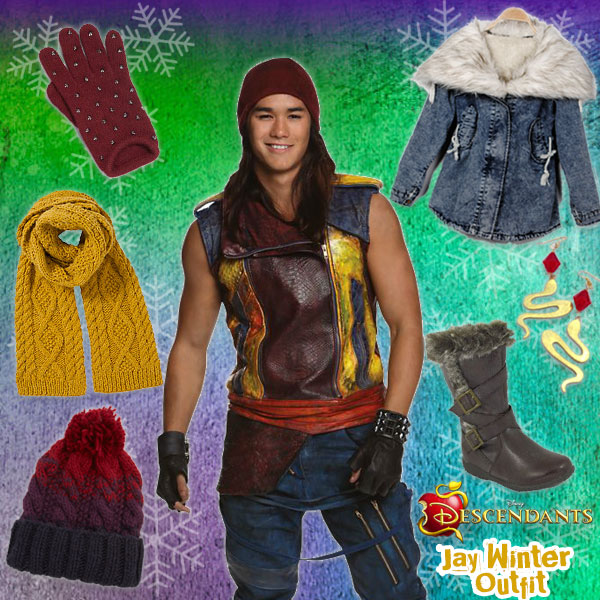 Descendants Winter Style: Jay Outfit