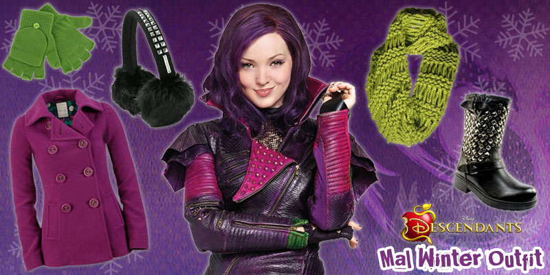 Descendants Winter Style: Mal Outfit