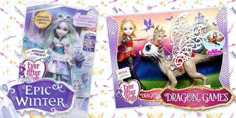 Epic Winter Dragon Games - Ever After High