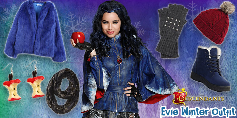 Descendants Winter Style: Evie Outfit