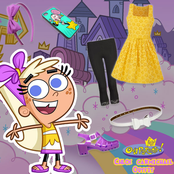 Chloe Carmichael Outfit - Fairly Odd Parents