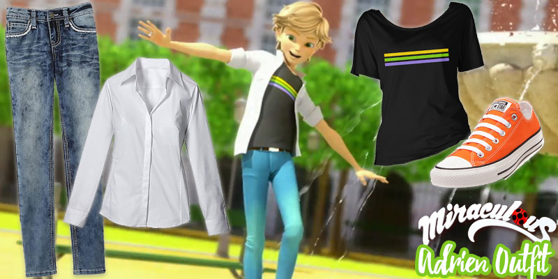 Miraculous Style Series: Adrien Outfit