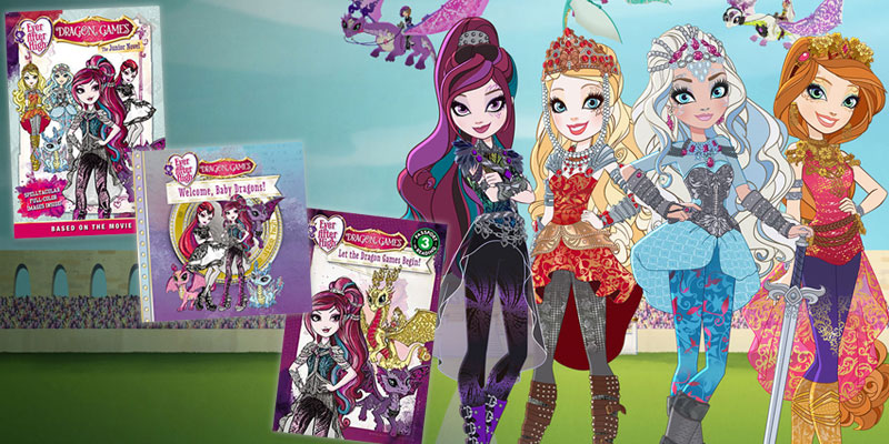The Ever After High Dragon Games Books Have Arrived Yayomg