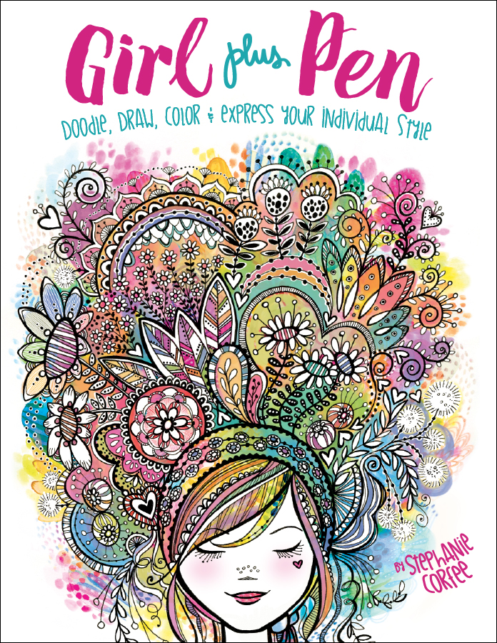 Girl Plus Pen - Stephanie Corfee