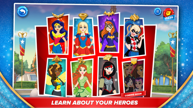 DC Super Hero Girls App
