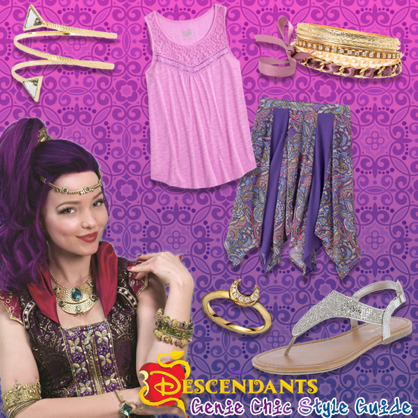 Disney Descendants Genie Chic Style Guide