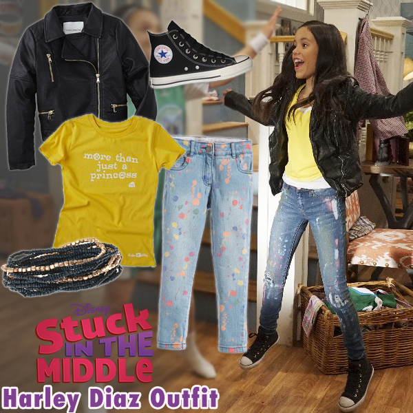 Stuck in the Middle Style Series: Harley Diaz Outfit