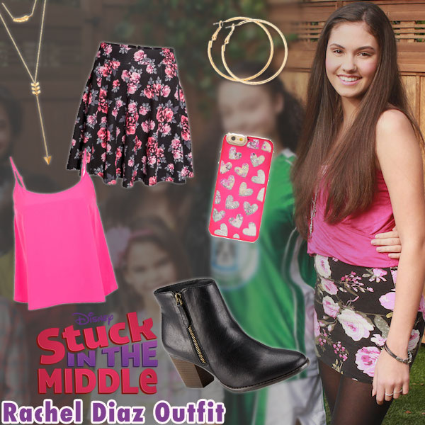 Stuck in the Middle Style Series: Rachel Diaz Outfit