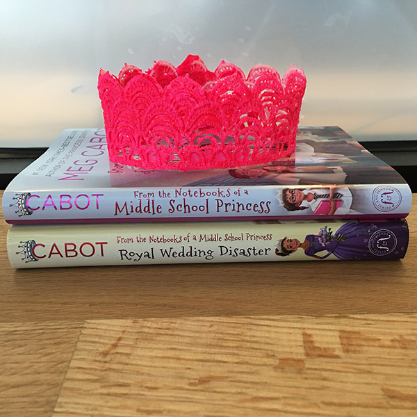 DIY Lace Princess Crown