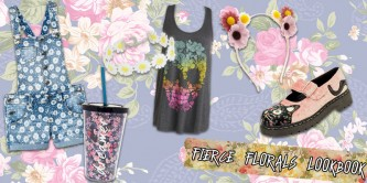 Fierce Florals Lookbook
