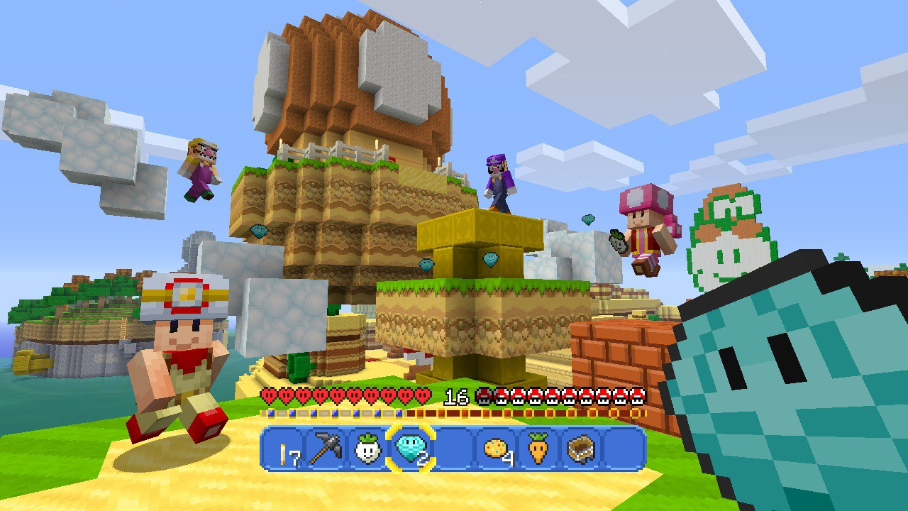 The Minecraft Super Mario Mash-up Pack is Kind of Amazing