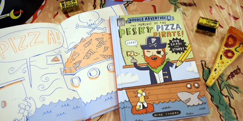 Doodle Adventures: The Pursuit of the Pesky Pizza Pirate
