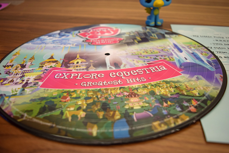 My Little Pony: Friendship is Magic Explore Equestria Vinyl Record Giveaway