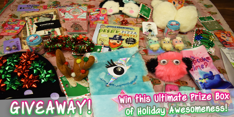 Ultimate Prize Box of Holiday Awesomeness - Holiday Giveaway 2016