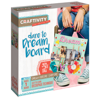 Crafts for Non-Crafty Crafters - Dare to Dream Board