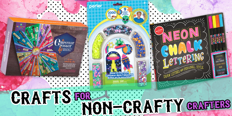 Crafts for Non-Crafty Crafters