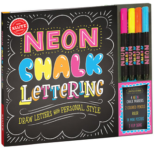 Crafts for Non-Crafty Crafters - Neon Chalk Lettering