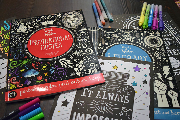 Words of Wisdom Coloring Books