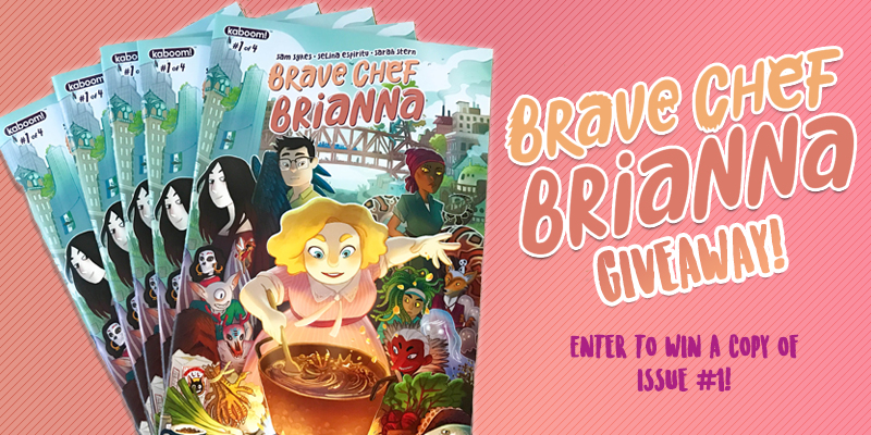 Brave Chef Brianna Giveaway