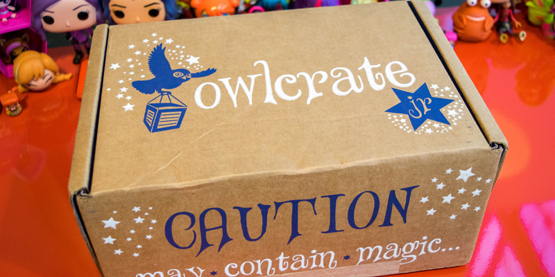 OwlCrate Jr. - March 2017 Unlikely Friends Box