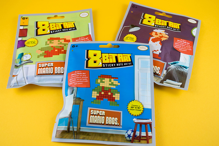 8-Bit Art Sticky Note Craft Kits - Ultimate Source