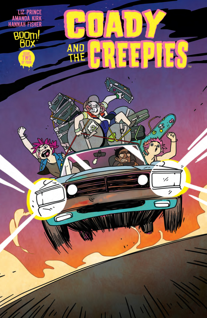 Coady and the Creepies #2 - BOOM! Studios