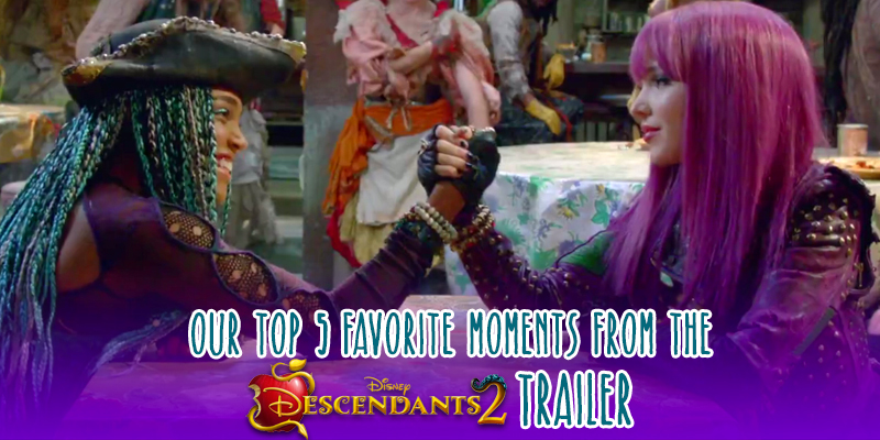 Our Top 5 Moments From the Descendants 2 Trailer