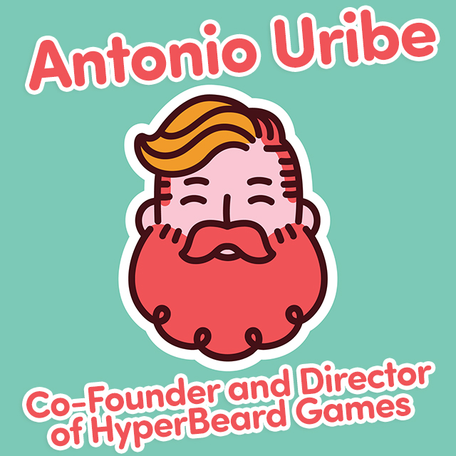 Interview with Antonio Uribe of HyperBeard Games