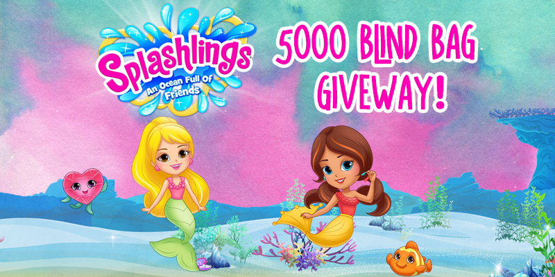 Splashlings Giveaway - TPF Toys