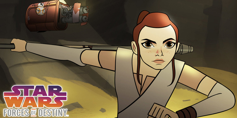 Star Wars: Forces of Destiny is all About Girl Power