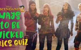Ways to be Wicked Lyrics Quiz