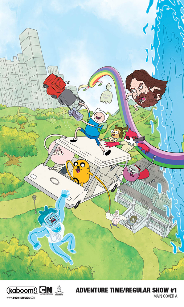 Adventure Time/Regular Show Comic Crossover - BOOM! Studios