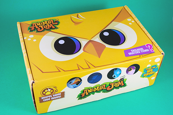 Animal Jam Box - Spring 2017 Unboxing