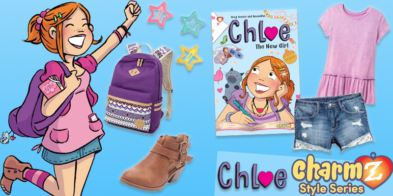 Charmz Style Series: Chloe: The New Girl