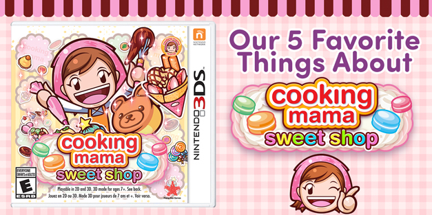 Cooking Mama: Sweet Shop Review - Our 5 Favorite Things