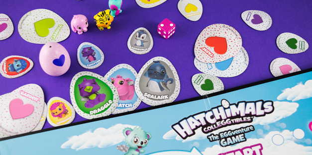 Hands on With the Hatchimals CollEGGtibles EGGventure Game