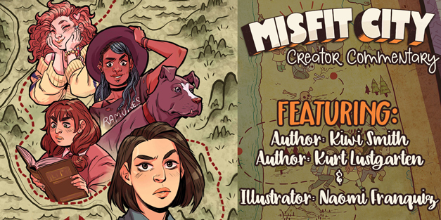 Misfit City #1 - Exclusive Creator Commentary