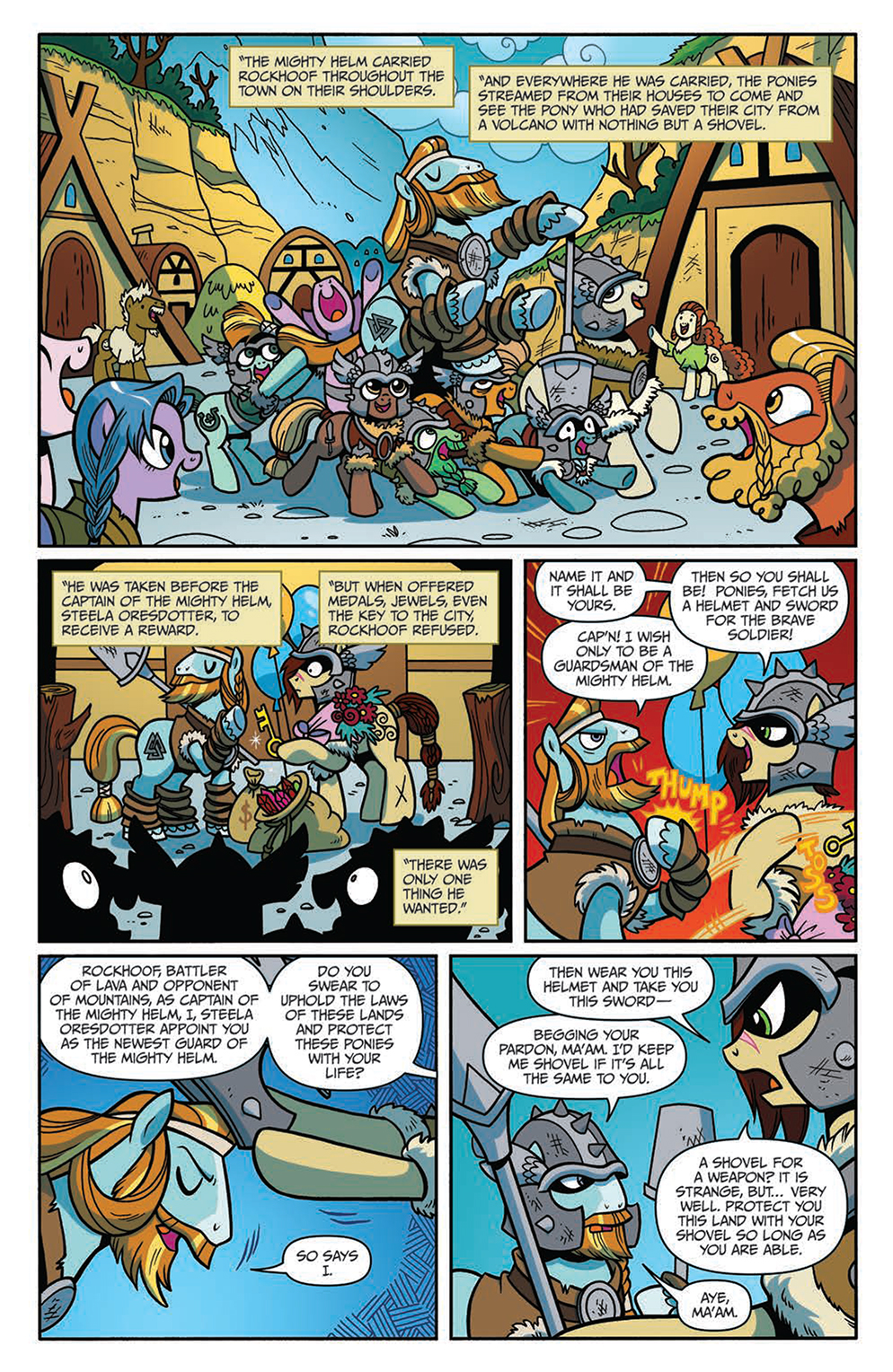 EXCLUSIVE PREVIEW: My Little Pony: Legends of Magic #2 - IDW Publishing